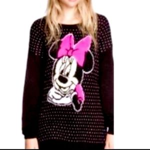 NWT Divided Disney Minnie Mouse oversized sweater